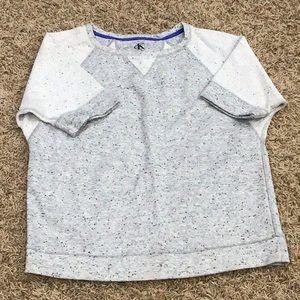 Calvin Klein Tops - Calvin Klein SS sweatshirt size M.